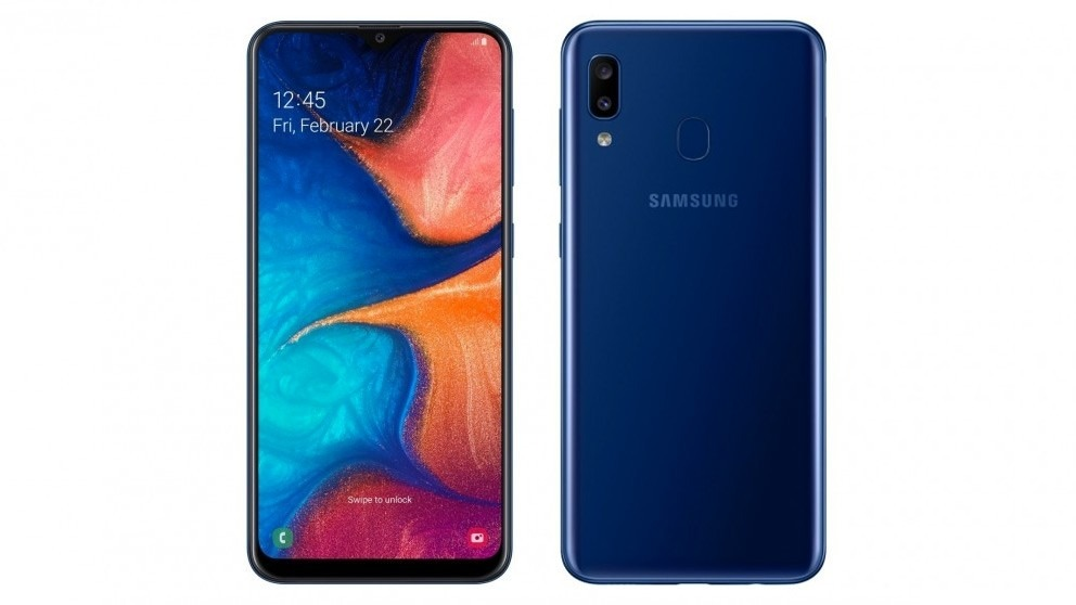 Samsung Galaxy A20 – Blue