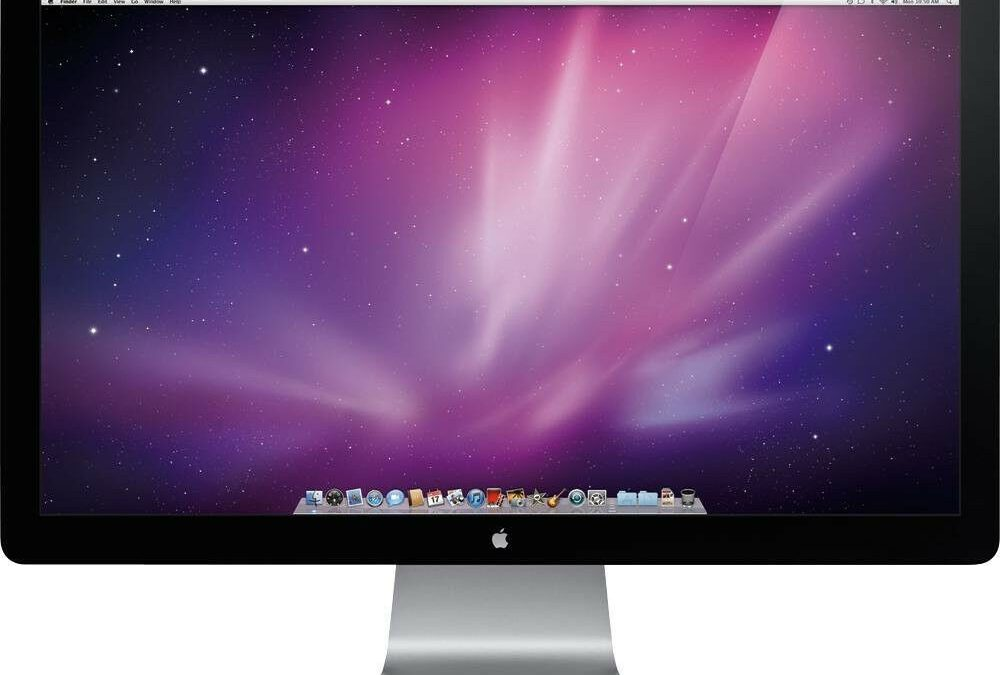 Apple 27″ Thunderbolt Monitor